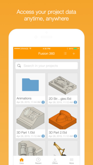 Edrawings For Iphone Ipad App Info Stats: Fusion 360 On The App Store