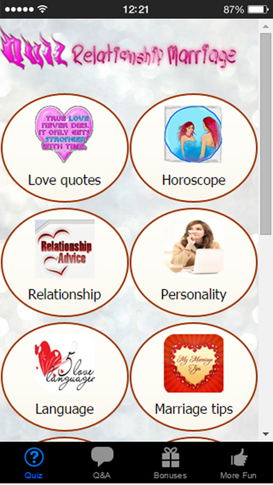 Marriage Life Quiz - Love Language and Relationship Trivia with