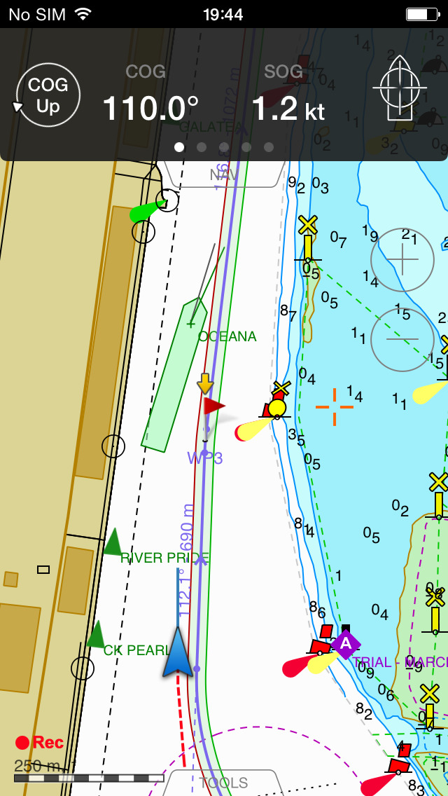 Transas iSailor – Marine Navigation, Chart Plotter and AIS Viewer