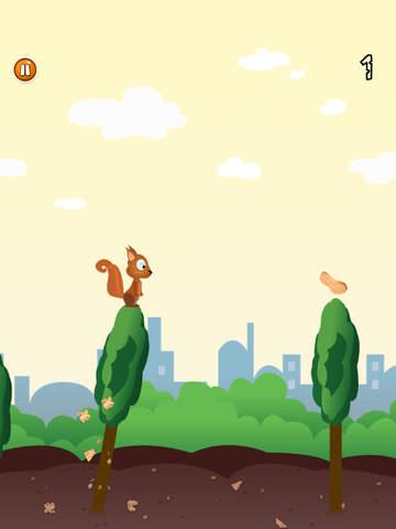 Skippy Skip - Make Them Squirrels Jump-ipad-1
