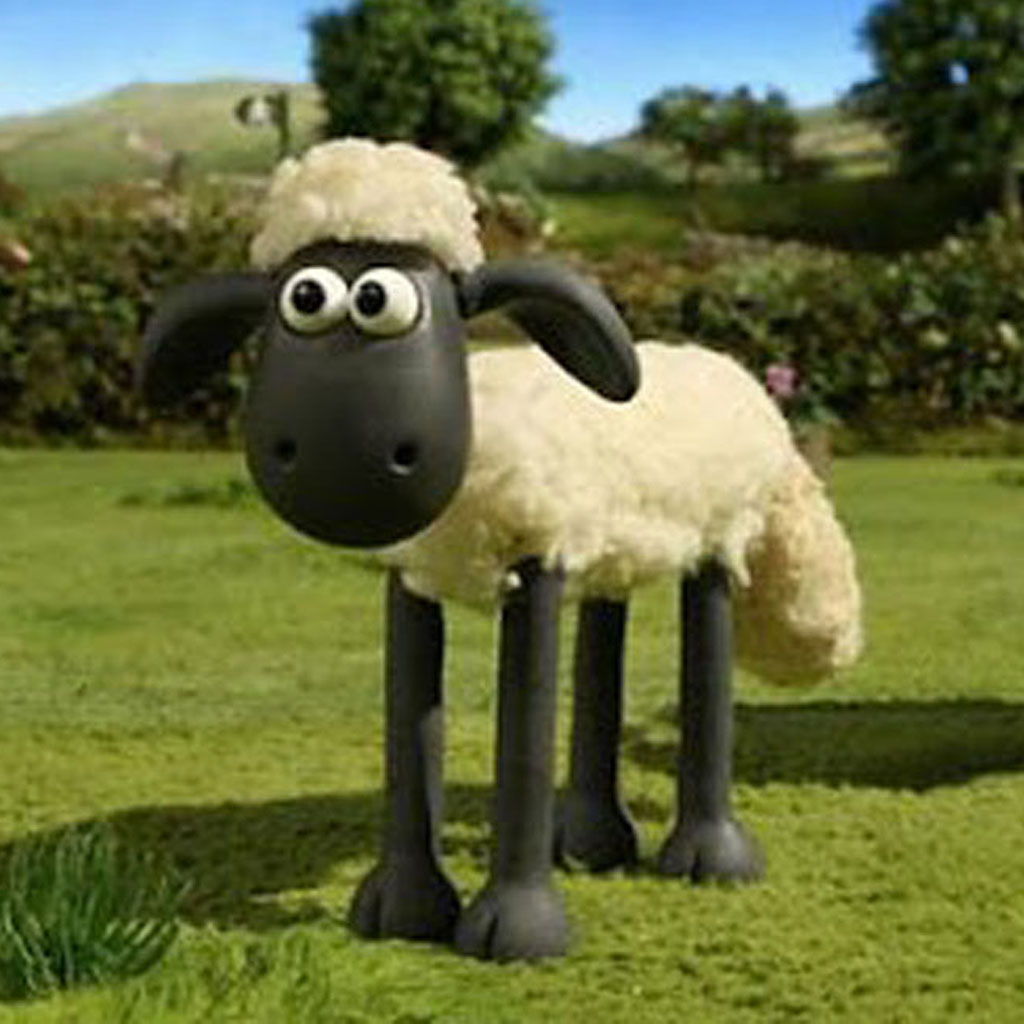 shaun sheep jump rope - HD 1024×1024
