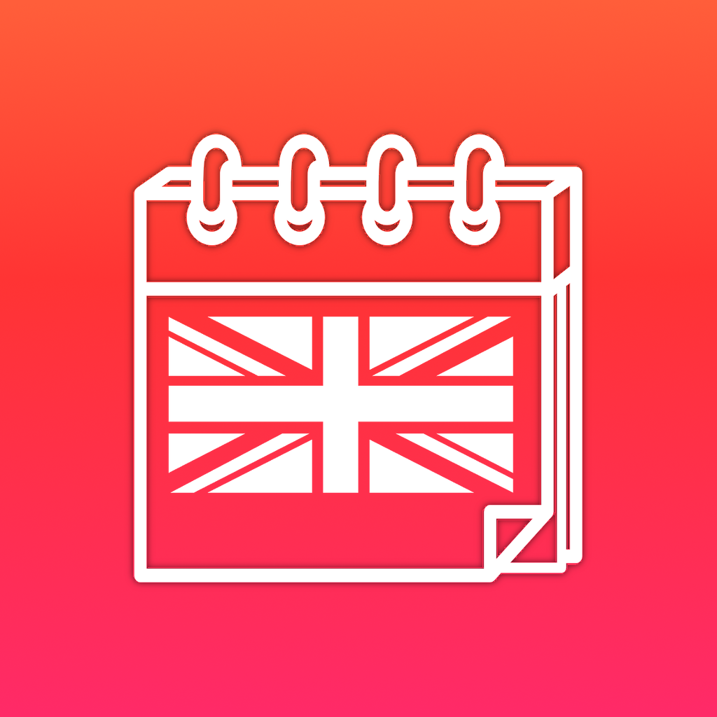 Language Calendar - Learn English with daily exercises