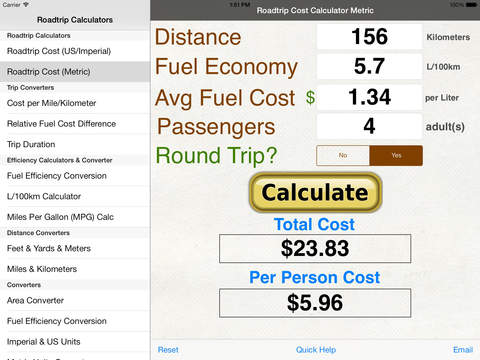 cost of gas cost of gas calculator