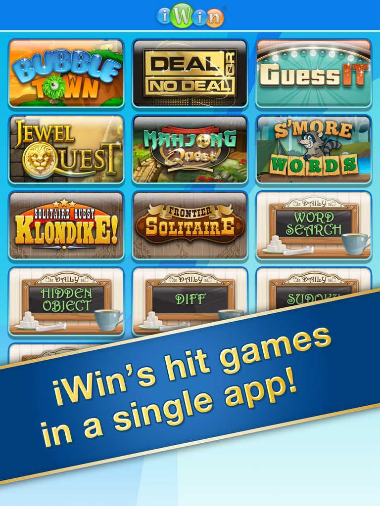 App Shopper: iWin Games (Games)