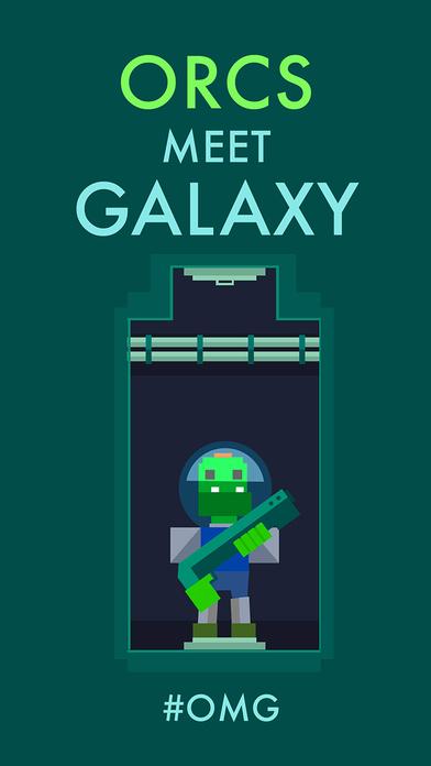 Orcs Galaxy Defense Screenshot on iOS