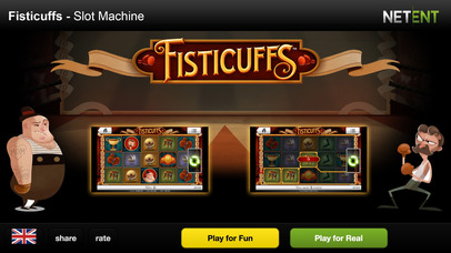 Fisticuffs - Casino Slot Machine by NetEnt the Games Developer Screenshot on iOS