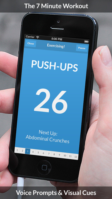 7 Minute Workout – Free Daily Fitness Routines Screenshot