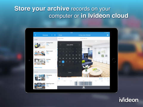 Video Surveillance Ivideon by Mobile Video Solutions CJSS