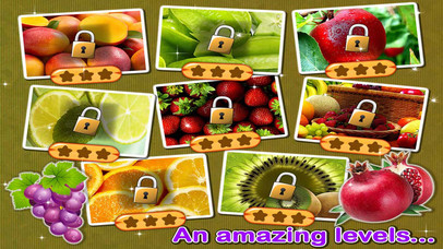 Amazing Fruits Jigsaw Puzzle Screenshot on iOS