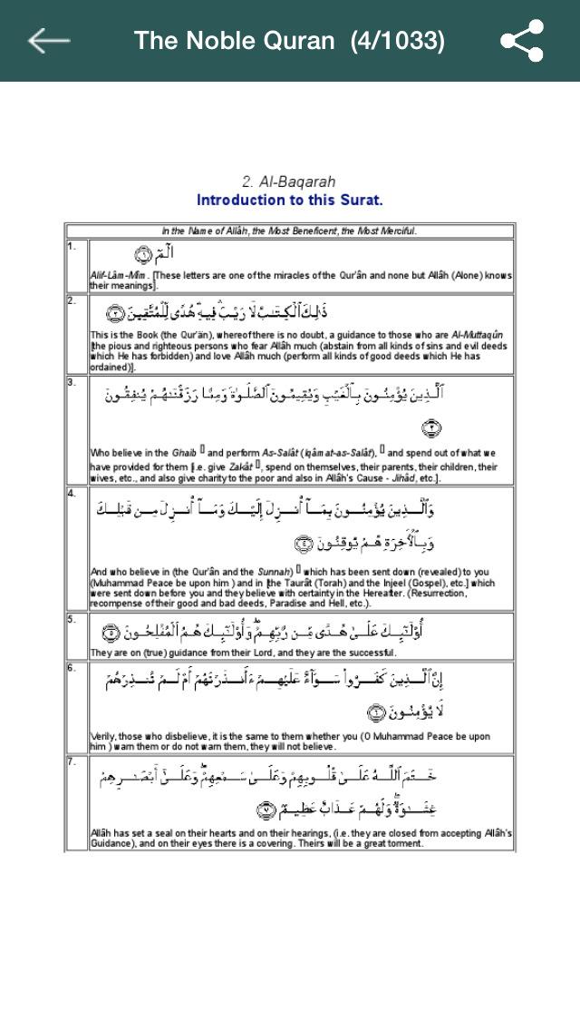 Noble quran english translation pdf