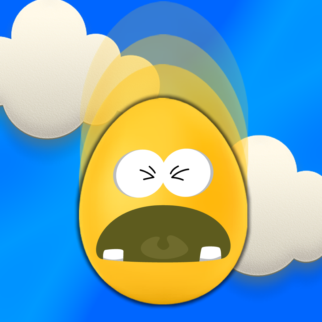 Egg Drop - Seriously Hard Parachute Reflex Game icon