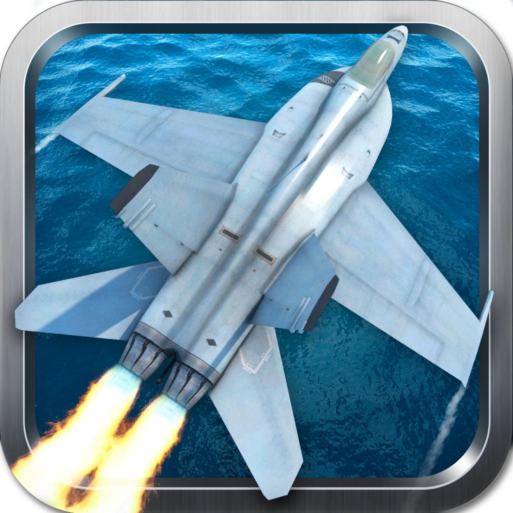 3D Fighter Jet Parking - Air Craft Carrier Landing & Battleship War Simulator F18 Pilot Games