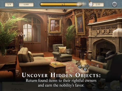 Downton Abbey: Mysteries of the Manor-ipad-1