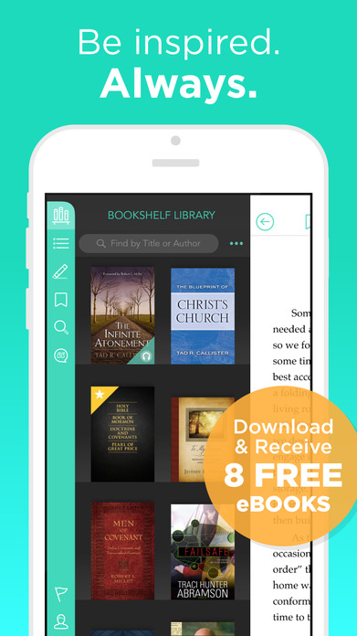 Deseret Bookshelf (LDS e-reader) Screenshot