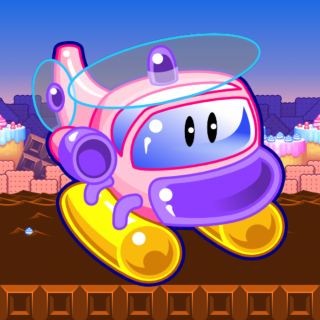 Candy Copter - Flappy Swing Heli-copters Game