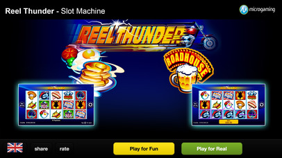 Slots - Reel Thunder - The best free Casino Slots and Slot Machines! Screenshot on iOS
