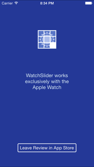 WatchSlider - The Puzzle Game for your Apple Watch Screenshot on iOS