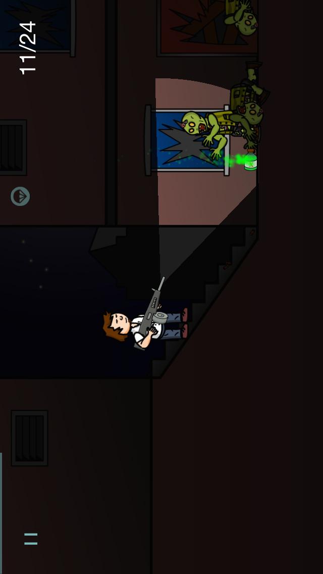 Pitch Black Screenshot on iOS