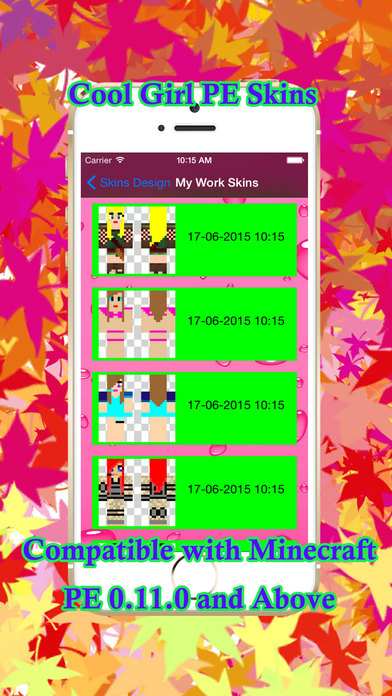 Cool girl skins for pe of minecraft apppicker - Cool girl skins for minecraft pe ...