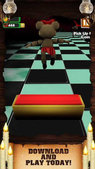 Creepy Monster Run Horror - Awesome Scary Hunter Dash Game For Teen Boys Free Screenshot