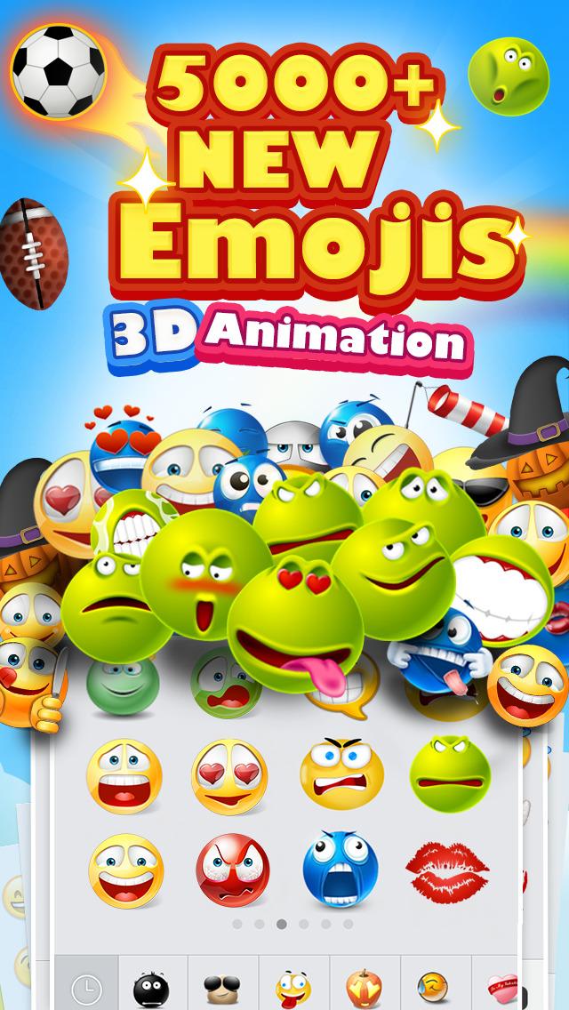 5000+ Emoji New - 3D Animated Emoticons Screenshot