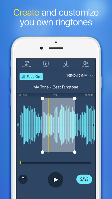 Ringtones for iPhone with Ringtone Maker Screenshot