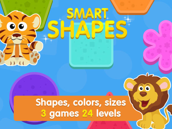 App Shopper: Smart Toddler: Shapes And Colors. Learning