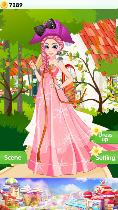 Fashion Princess - Makeover Salon Games Screenshot on iOS