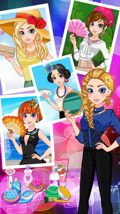 Fashion Princess - Makeover Salon Games Screenshot on iOS
