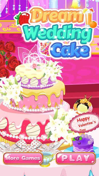 Dream Wedding Cake Decoration Salon Girl Games