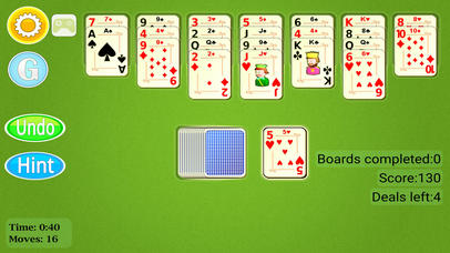 Golf Solitaire Mobile Screenshot on iOS
