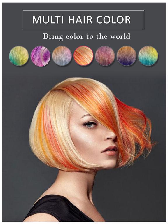 best hair color changer app best hair colour app on the app store. Black Bedroom Furniture Sets. Home Design Ideas