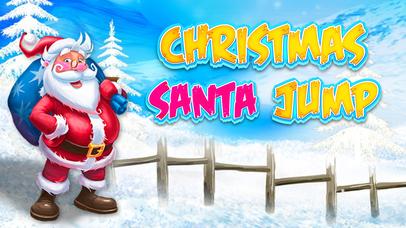 Christmas Santa Jump - Super Endless Adventure Screenshot on iOS