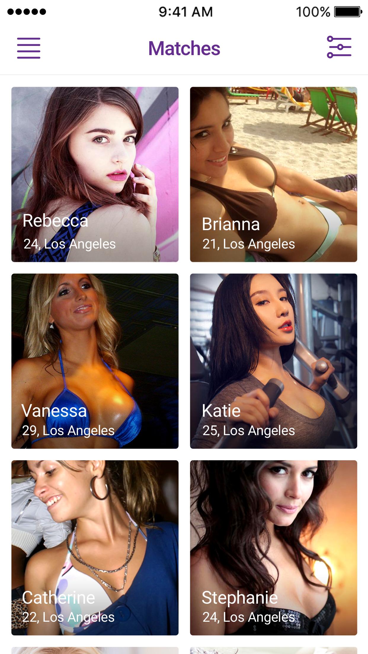Hook Up Dating - Casual Hookup Dating App FWB Screenshot
