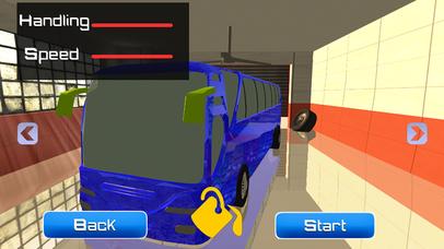 City Bus Parking 3D Simulator Screenshot on iOS