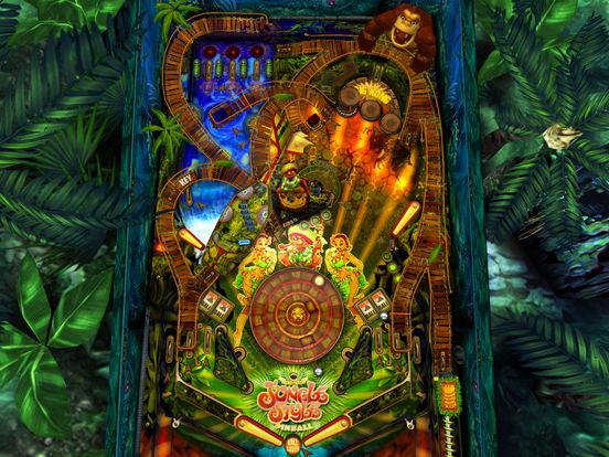 Jungle Style Pinball Screenshot