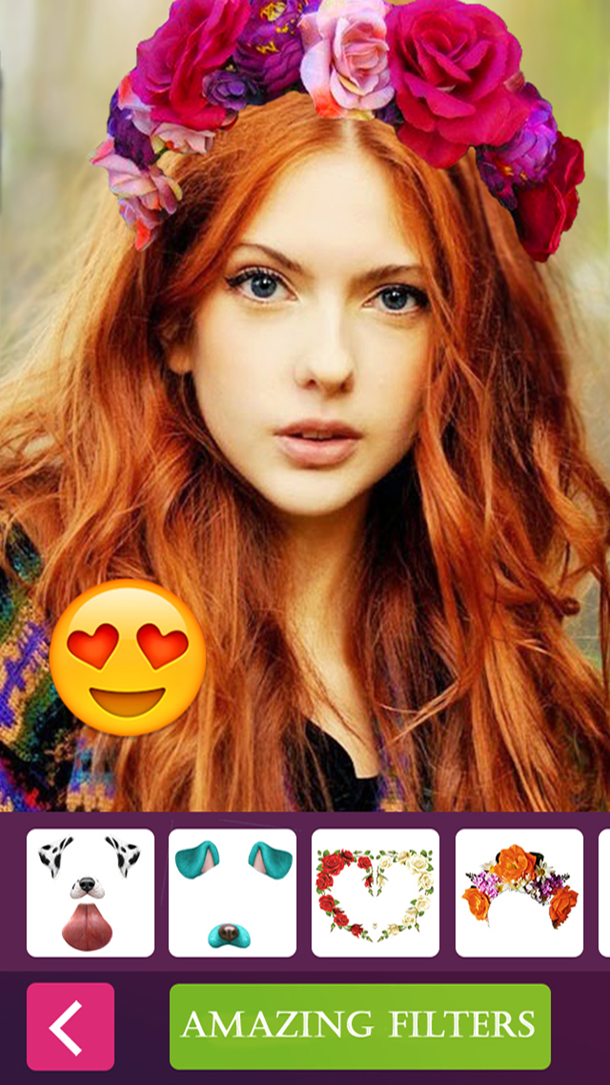 Flower crown photo collage editor for snapchat aso report and flower crown photo collage editor for snapchat screenshot izmirmasajfo Gallery