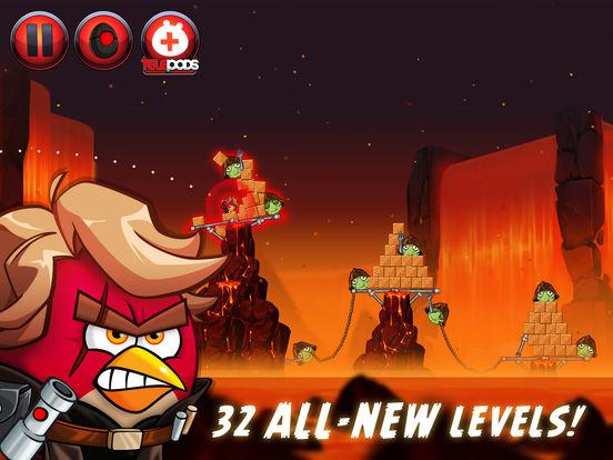 #5. Angry Birds Star Wars II (iOS)