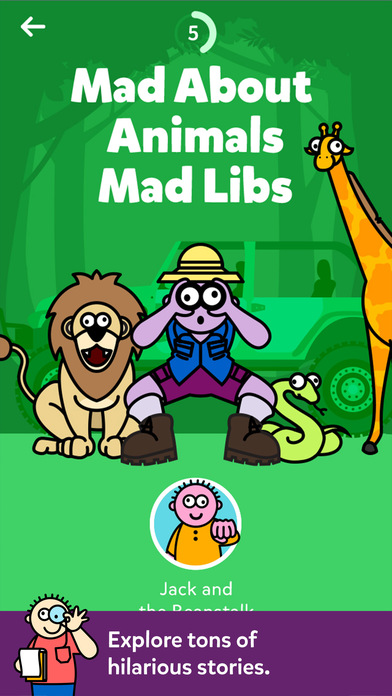 Mad Libs Screenshot