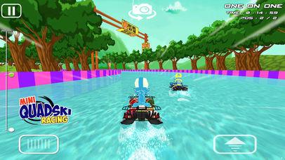 Mini Quad Ski Racing - Fun Jet Ski Racing for Kids Screenshot on iOS