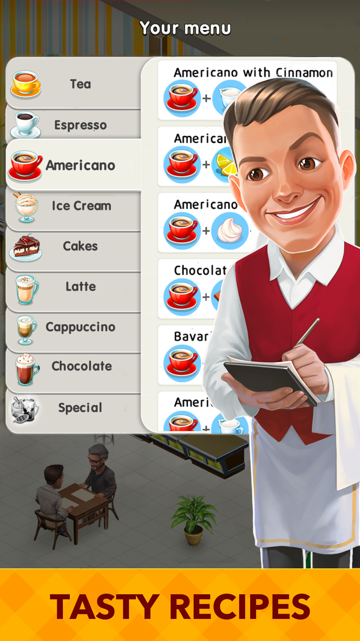My Cafe: Recipes & Stories - World Restaurant Game Screenshot