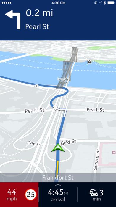 HERE WeGo - City navigation & Offline maps Screenshot