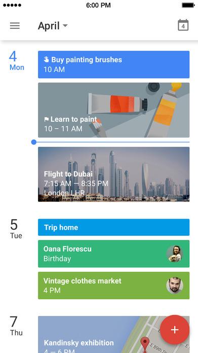 Google Calendar: Make the most of every day Screenshot