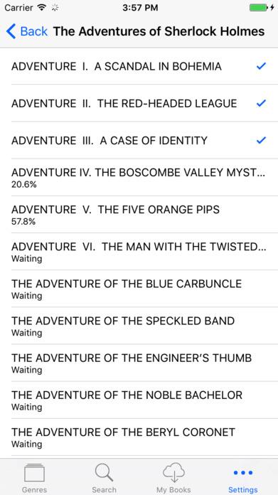 Audiobooks 7000+ - High Quality Audio Book Library Screenshot