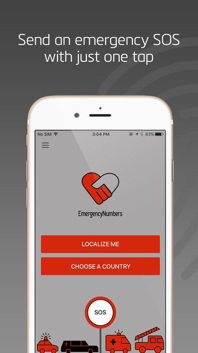 App Shopper Emergency Numbers Call 911 112 Or Other