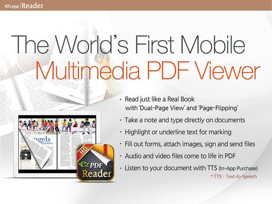 Pdf ezpdf reader multimedia