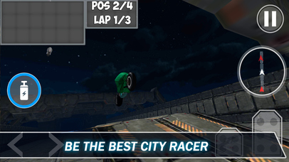 Light Bike: Neon Motorbike Racing 3D Screenshot on iOS