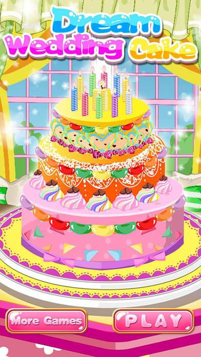 Dream Wedding Cake Design Decoration Kid Games