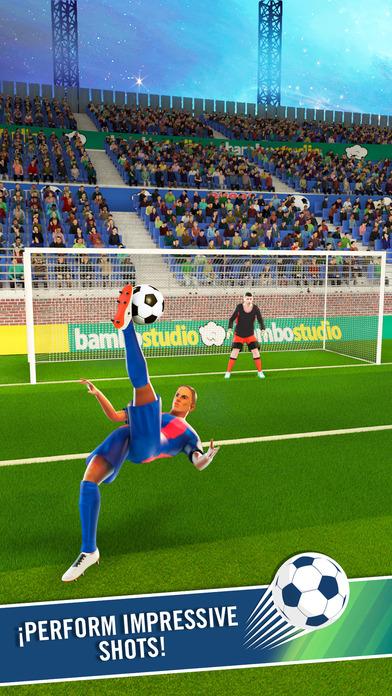 Dream Soccer Star Screenshot on iOS