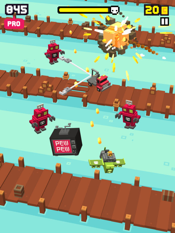 Shooty Skies - Endless Arcade Flyer Screenshot